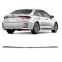 Aplique Cromado Parachoque Traseiro Corolla 2020 2021