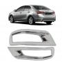 Aplique Moldura Cromado Refletor Traseiro Corolla 2015 16 17 18 19