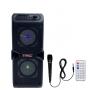 Caixa de Som Amplificada Portatil Bluetooth 60W RMS  com Microfone