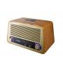 Caixa de Som Retrô Bluetooth 35W RMS