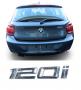 Emblema Tampa Traseira BMW 120i