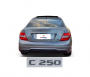 Emblema Tampa Traseira C250 C 250 Mercedes benz