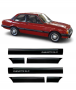 Kit Friso Lateral Chevette SLE + Grampos 87 88 89 90 91 92 93 94
