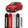Friso Lateral Personalizado Fiat Argo Vermelho Alpine