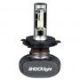 Kit Lampada Ultra Led Titanium H4 50W 6000k