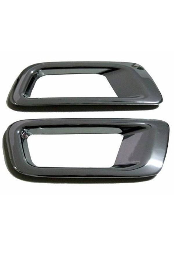 Aplique Cromado Farol de Milha Chevrolet S10  - Só Frisos Ltda