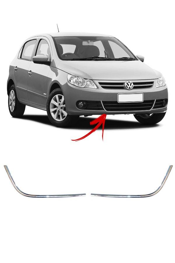 Aplique Cromado Grade Inferior Volkswagen Gol G5