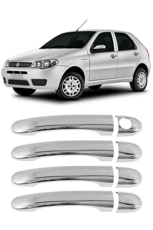 Aplique Cromado Maçaneta Fiat Palio 2004