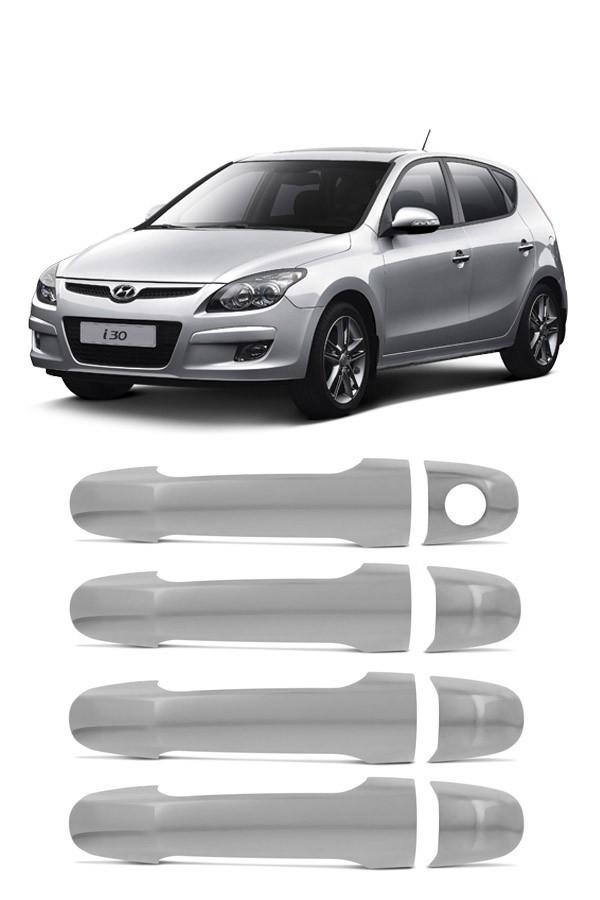 Aplique Cromado Maçaneta Hyundai I30  - Só Frisos Ltda