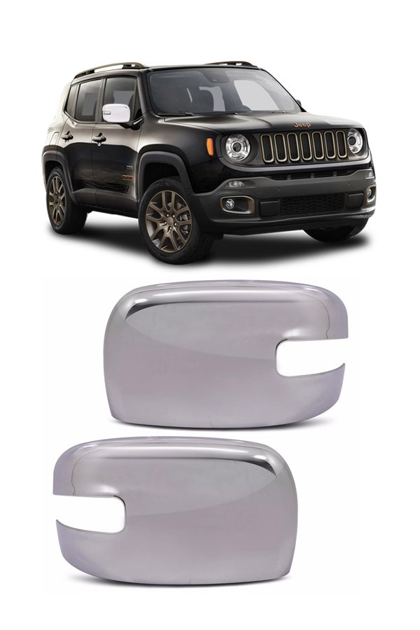 Aplique Cromado Retrovisor Jeep Renegade