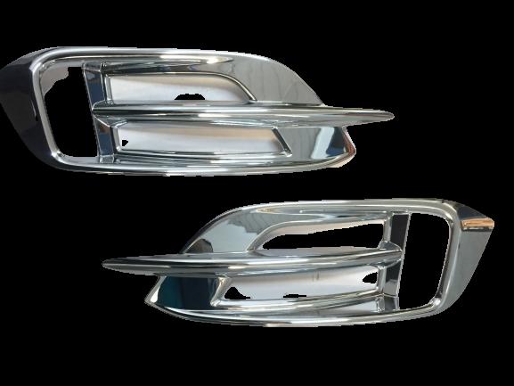 Moldura Aplique Cromado Refletor Traseiro Civic G10 2016 17 18 19 20  - Só Frisos Ltda