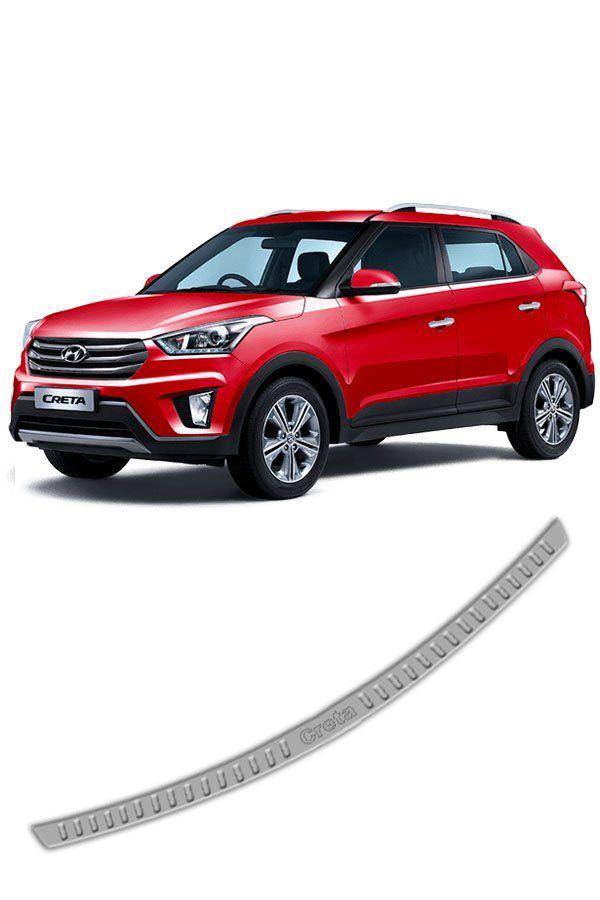 Apoio Para-Choque Traseiro Inox Hyundai Creta