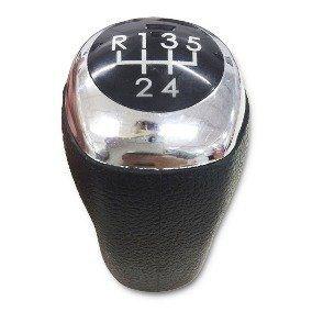 Bola de Câmbio Aro Cromado Hyundai HB20 1.6  - Só Frisos Ltda