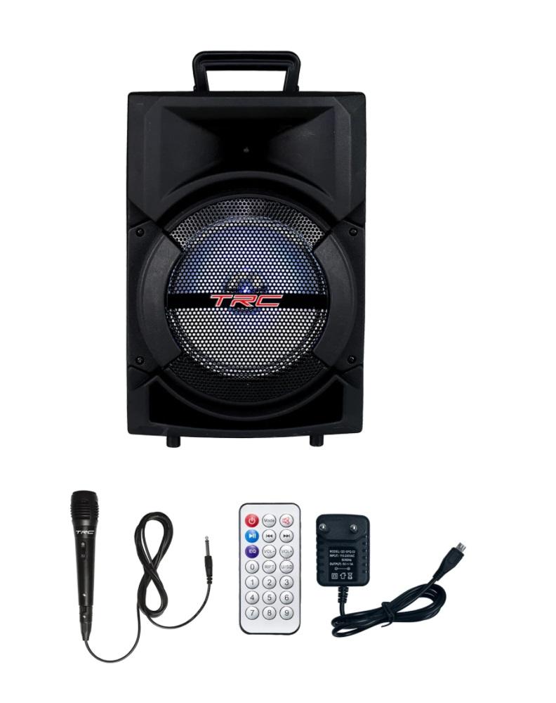 Caixa de Som Amplificada Portatil Bluetooth 220W RMS