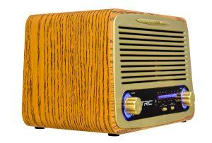 Caixa de Som Retrô Bluetooth 35W RMS  - Só Frisos Ltda