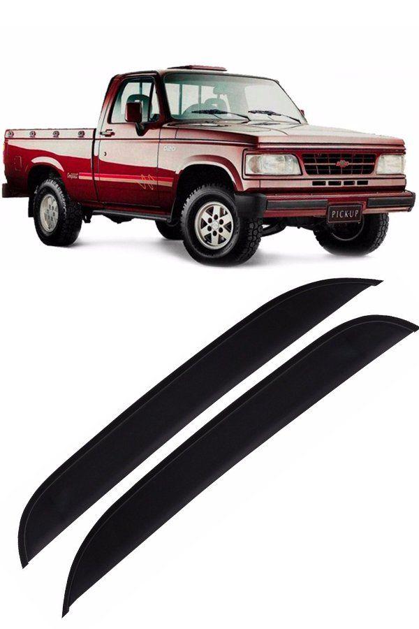Calha de Chuva Chevrolet D20 2p 1985 até 1997 Cabine Simples CS  - Só Frisos Ltda