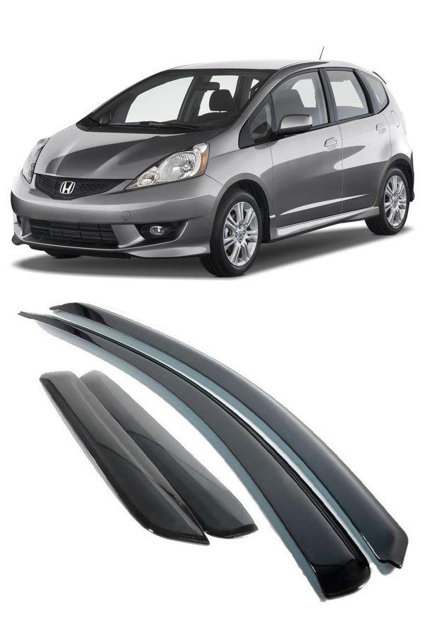 Calha de Chuva Honda Fit (New Fit) 2009 até 2014  - Só Frisos Ltda