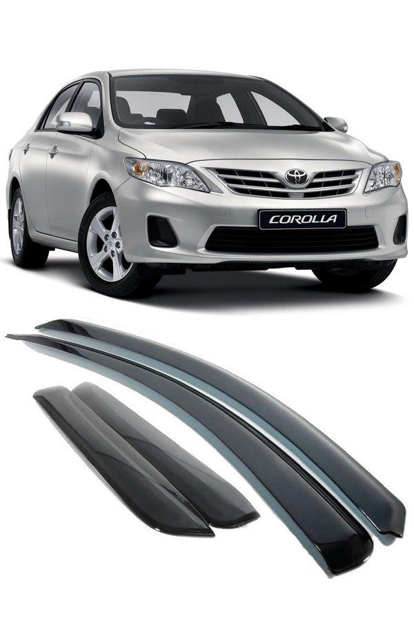 Calha de Chuva Toyota Corolla 2008 até 2014  - Só Frisos Ltda