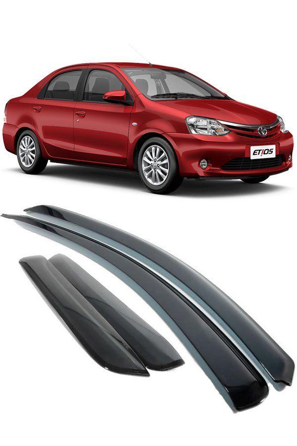 Calha de Chuva Toyota Etios Hatch e Sedan 2012 até 2017