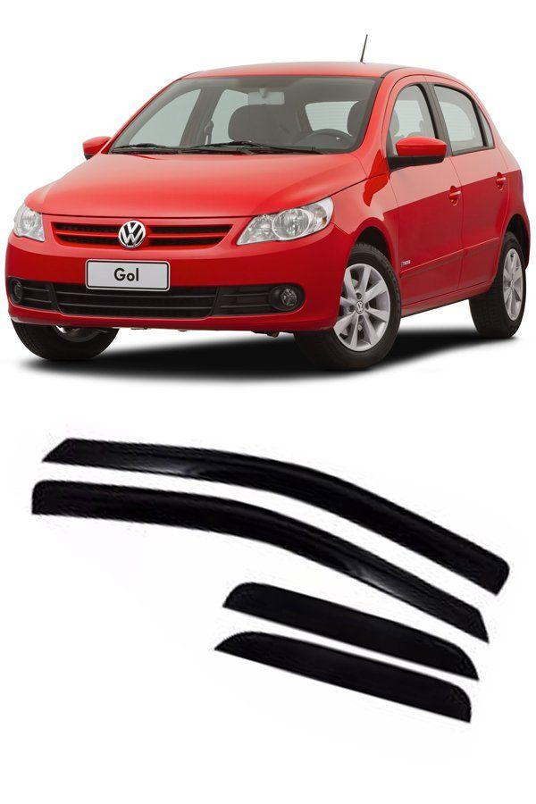 Calha de Chuva Volkswagen Gol/Voyage G5 G6 e G7 2008 até 2017  - Só Frisos Ltda