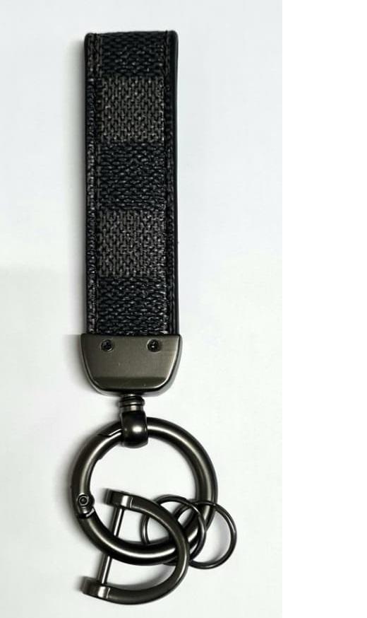 Chaveiro de Couro Premium Luxo LV   - Só Frisos Ltda