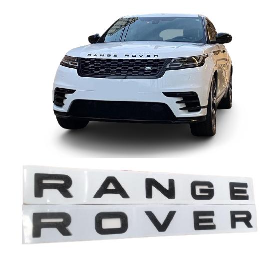 Emblema Range Rover Capo/Tampa Traseira  - Só Frisos Ltda