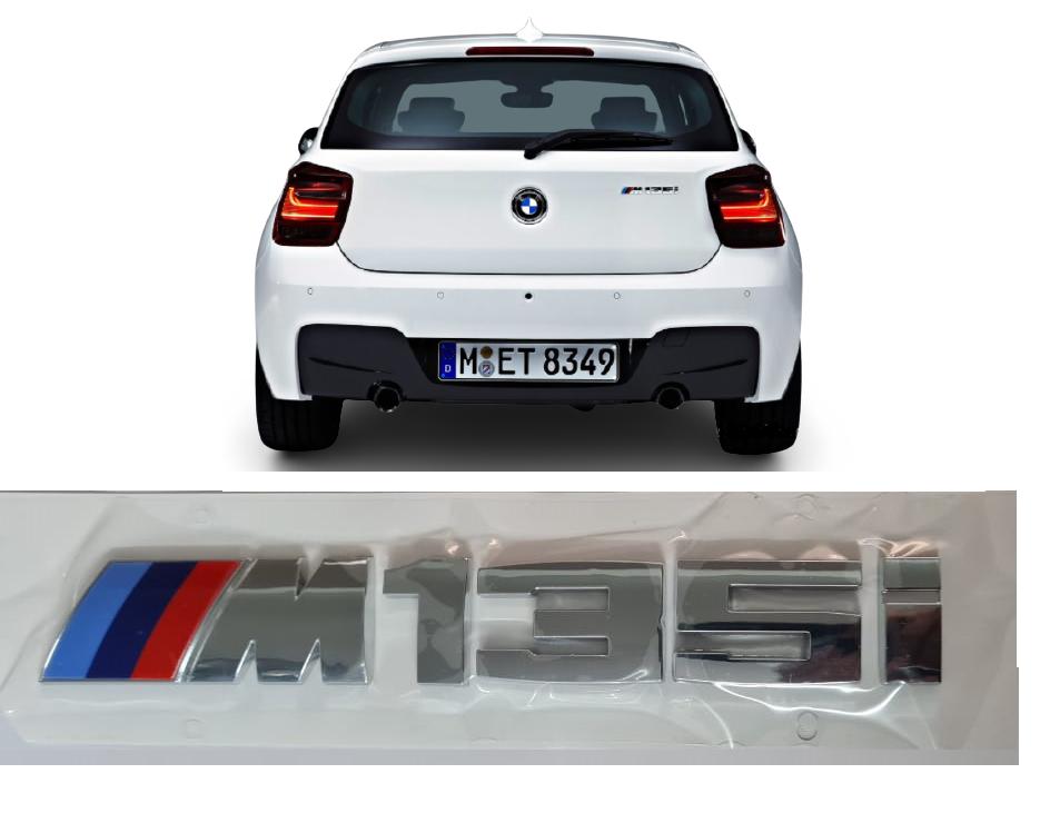 Emblema Tampa Traseira BMW 135M  - Só Frisos Ltda