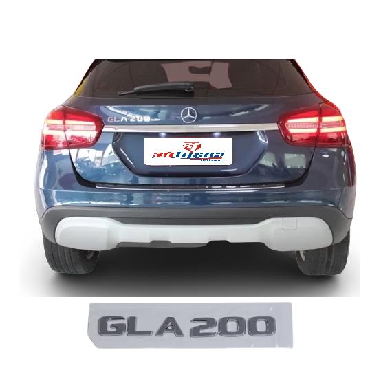 Emblema Tampa Traseira GLA200 GLA 200 Mercedes benz  - Só Frisos Ltda