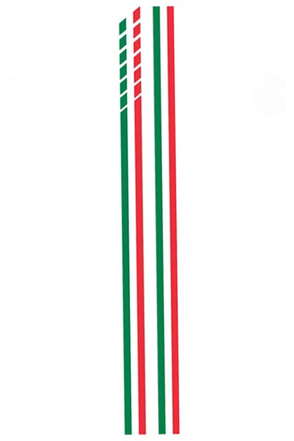 "Faixa Adesiva ""Itália"" Fiat 500  - Só Frisos Ltda"