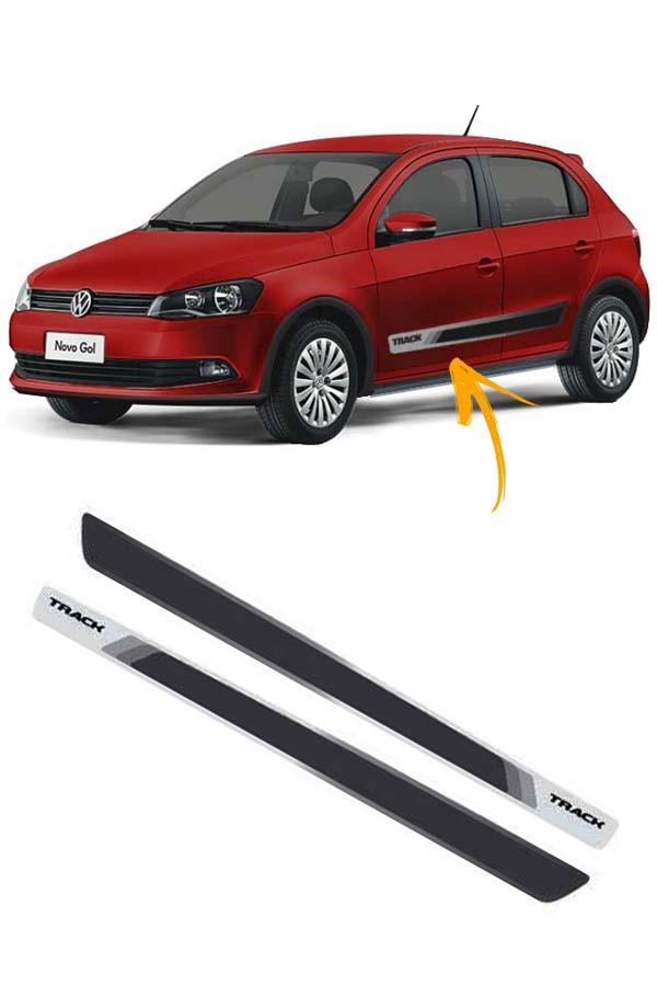 Faixa Adesiva Lateral Volkswagen Gol G6 Track  - Só Frisos Ltda