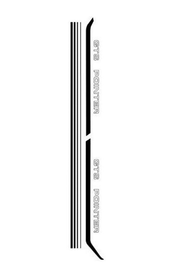 Faixa Adesiva Volkswagen Passat Pointer   - Só Frisos Ltda