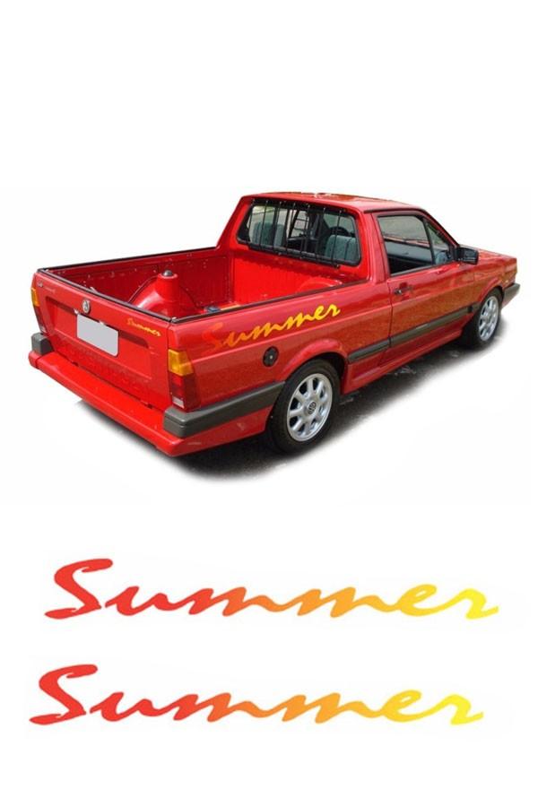 Faixa Adesiva Volkswagen Saveiro Summer