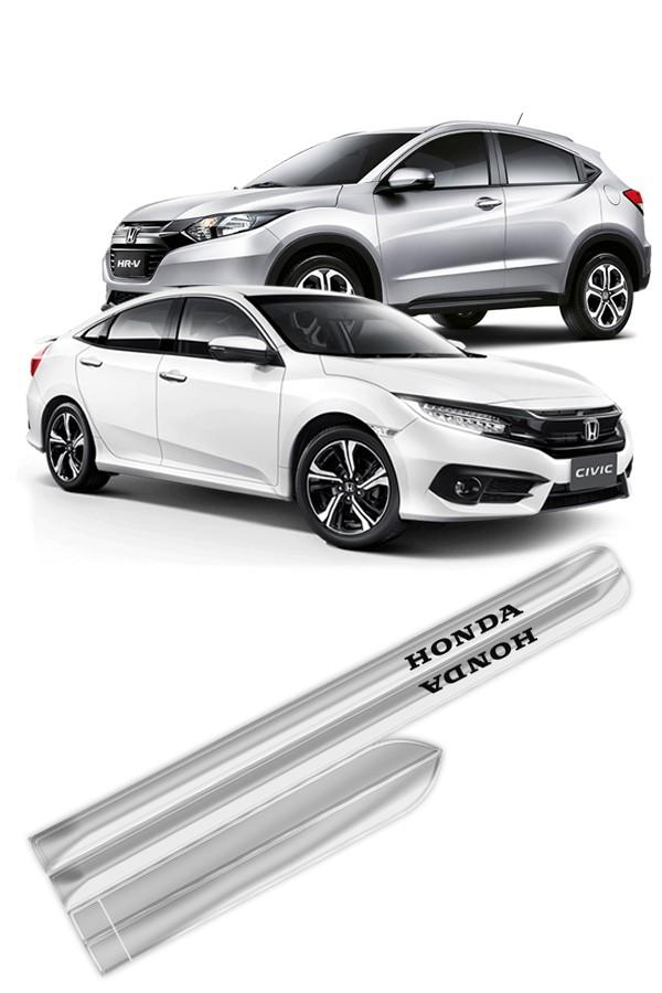 Friso Lateral Cromado Honda Modelo Universal  - Só Frisos Ltda