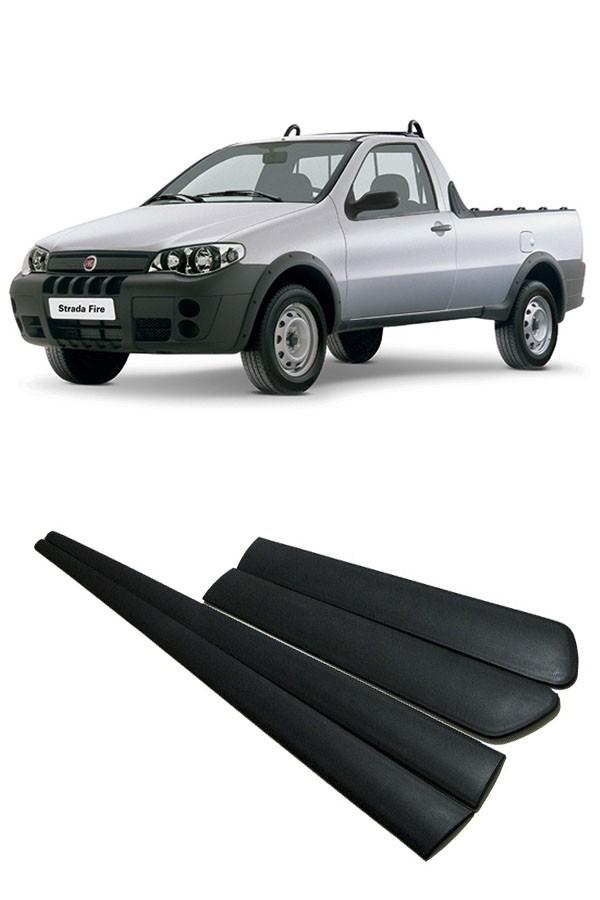 Friso Lateral Fiat Strada 2007  - Só Frisos Ltda