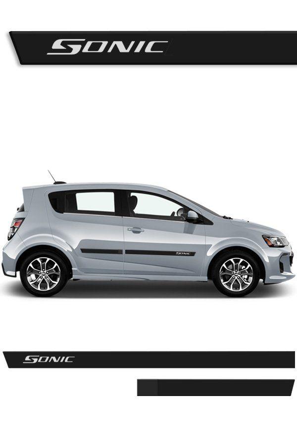 Friso Lateral Injetado Chevrolet Sonic