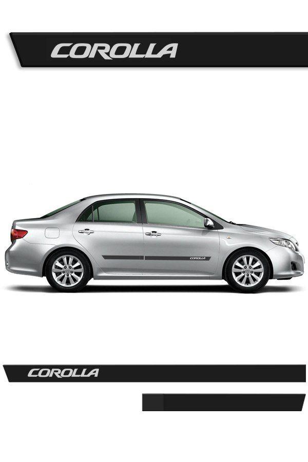 Friso Lateral Injetado Toyota Corolla (Todos)