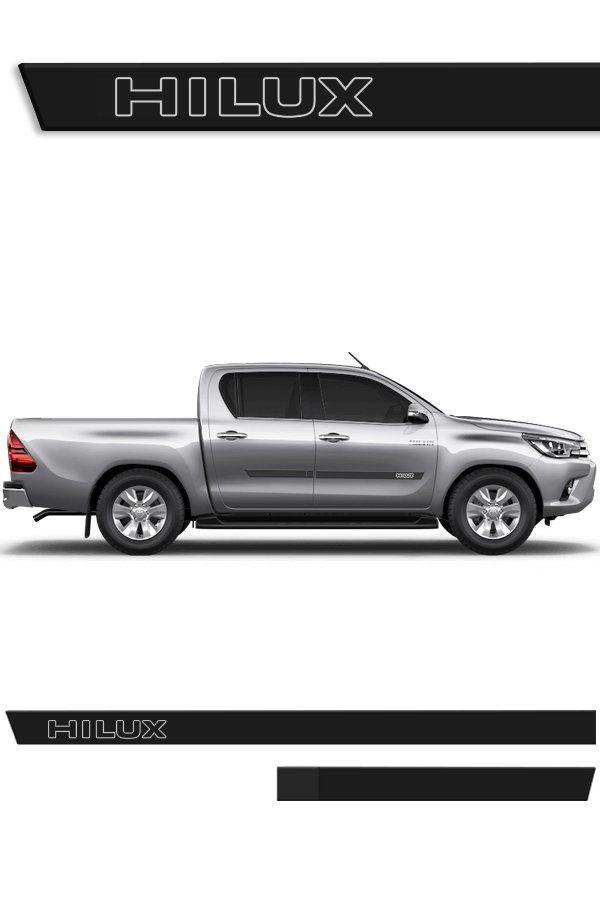 Friso Lateral Injetado Toyota Hilux (Todos os Modelos)