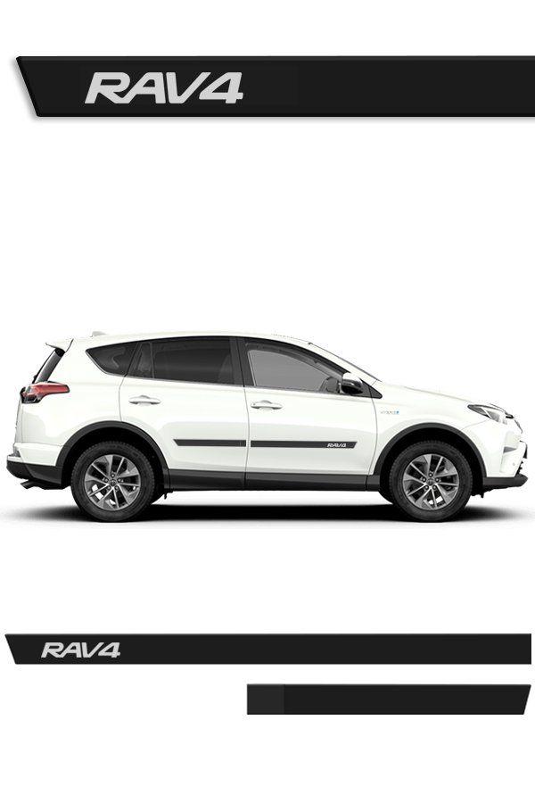 Friso Lateral Injetado Toyota RAV4