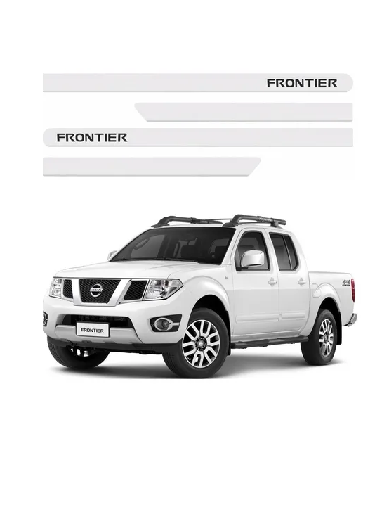 Friso Lateral Nissan Frontier  - Só Frisos Ltda
