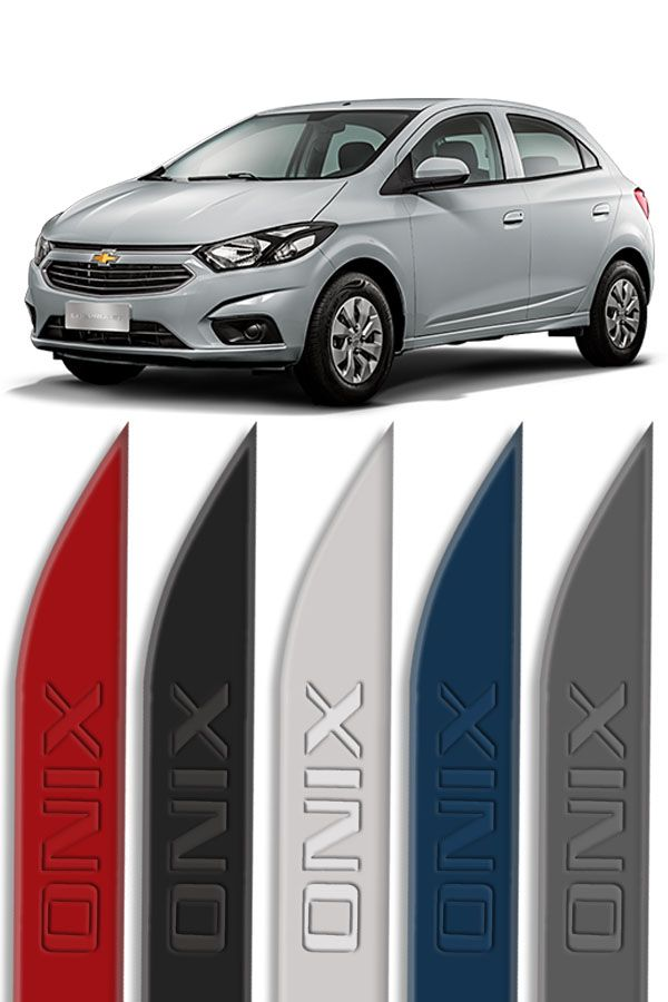 Friso Lateral Personalizado Baixo Relevo Chevrolet Onix  - Só Frisos Ltda
