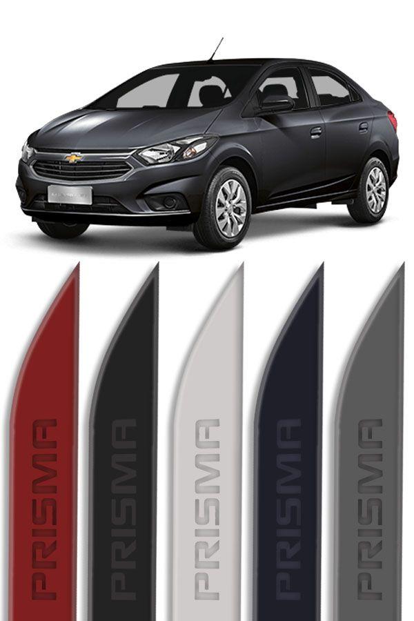 Friso Lateral Personalizado Baixo Relevo Chevrolet Prisma  - Só Frisos Ltda