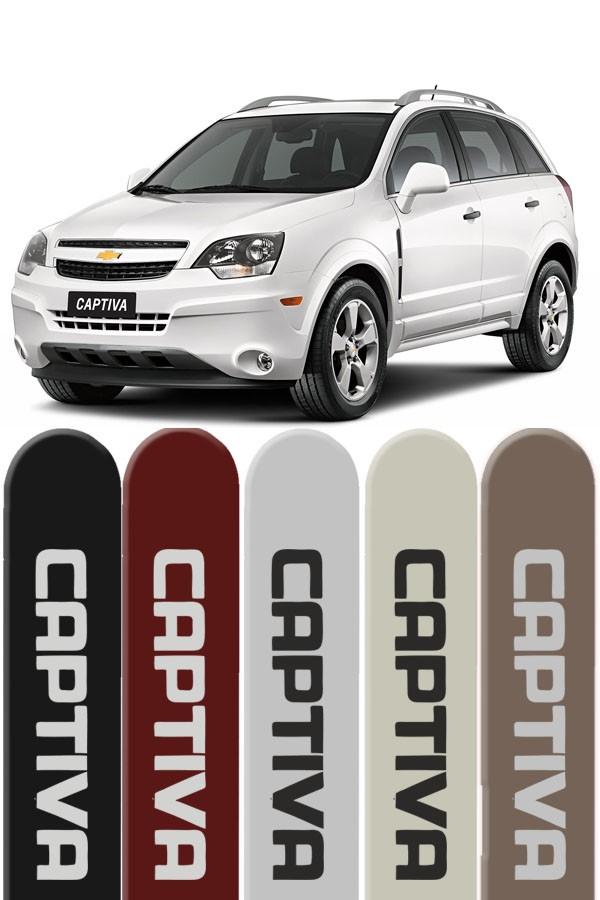 Friso Lateral Personalizado Chevrolet Captiva 2008/...  - Só Frisos Ltda