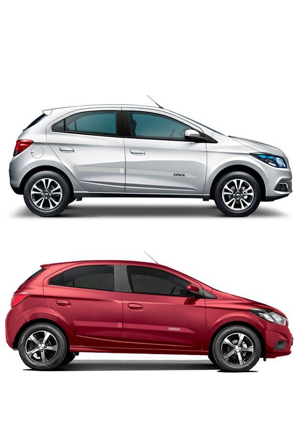 """Friso Lateral Personalizado Chevrolet Onix """"modelo faca""""  - Só Frisos Ltda"""