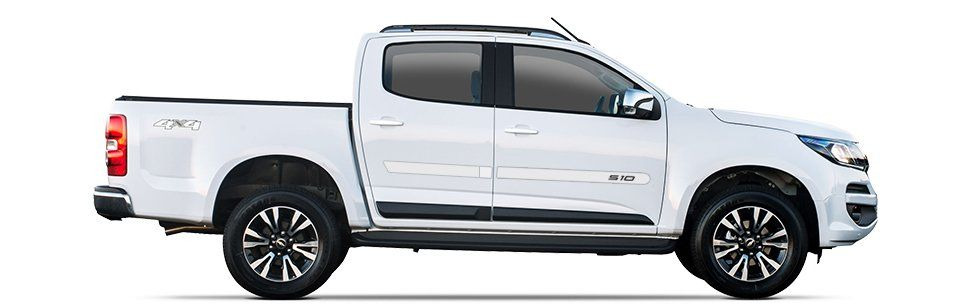 Friso Lateral Personalizado Chevrolet S10  - Só Frisos Ltda