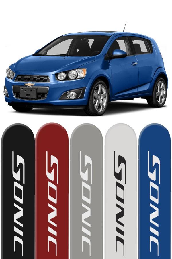 Friso Lateral Personalizado Chevrolet Sonic  - Só Frisos Ltda