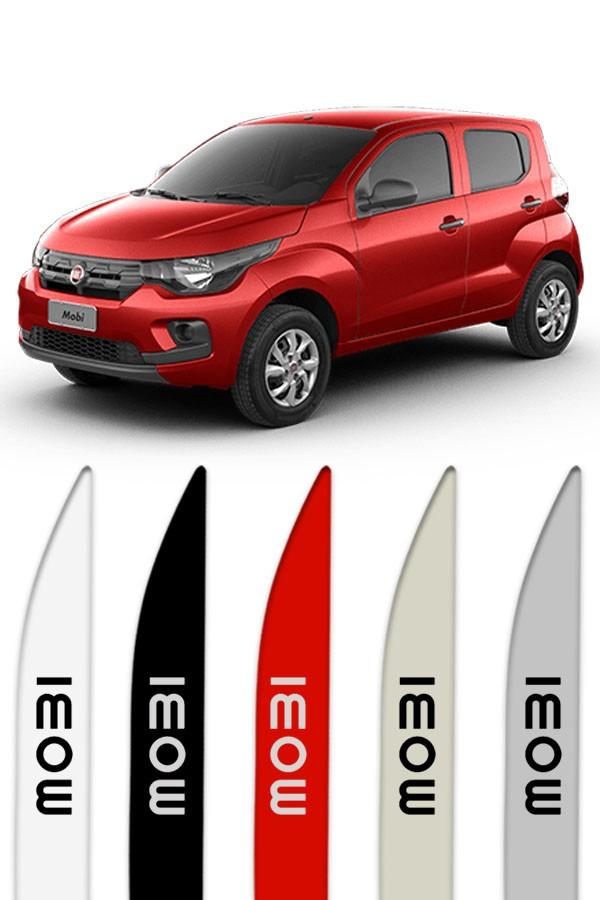 Friso Lateral Personalizado Fiat Mobi  - Só Frisos Ltda