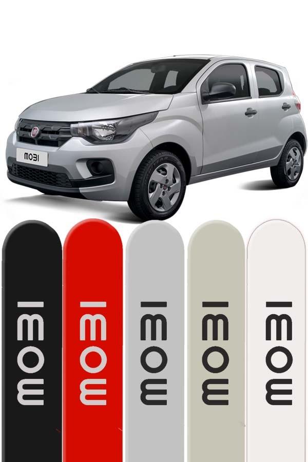 Friso Lateral Personalizado Fiat Mobi - Ponta Redonda   - Só Frisos Ltda