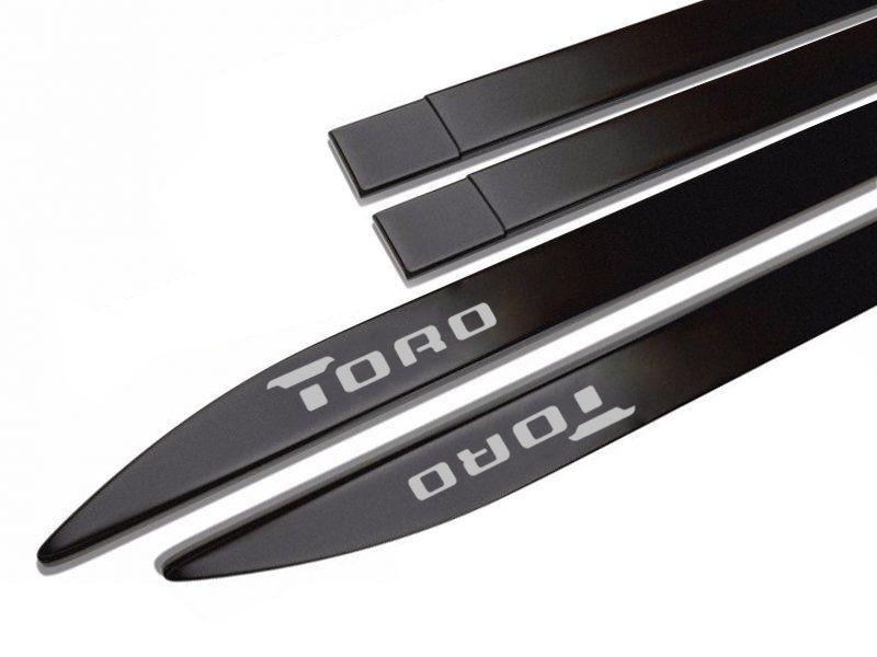 Friso Lateral Personalizado Fiat Toro  - Só Frisos Ltda