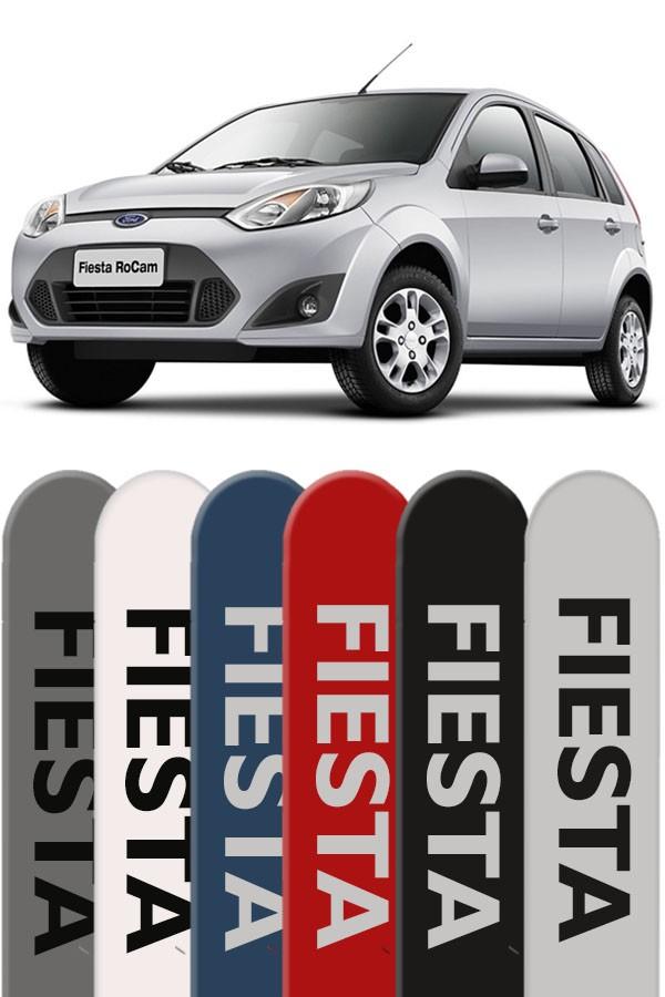 Friso Lateral Personalizado Ford Fiesta Rocam  - Só Frisos Ltda