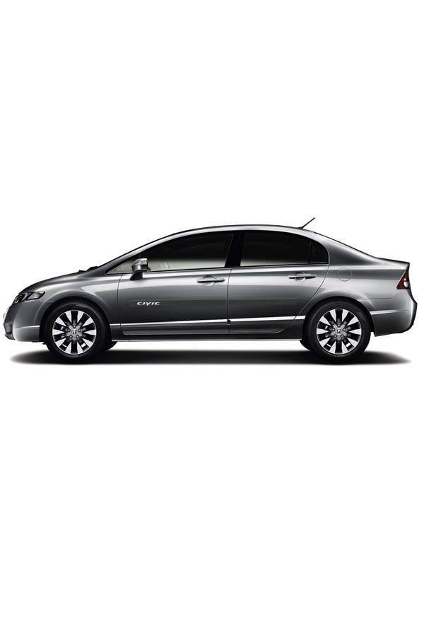 Friso Lateral Personalizado Honda Civic 2006 até 2011  - Só Frisos Ltda